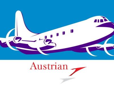 Austrian Airlines zrušený let